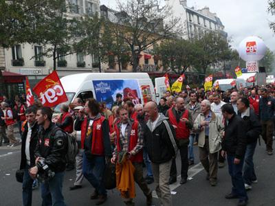 Manif du 11 octobre 2011
