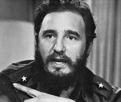 Condoléance de Philippe MARTINEZ suite au décès de Fidel Castro