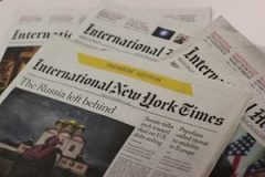 International New York Times : 129 ans à Paris et puis s'en va !