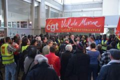 Rungis : Solidarité avec les travailleurs sans-papiers