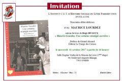 Rencontre-débat-dédicace autour du livre : « Maurice Lourdez. Une certaine stratégie ouvrière »