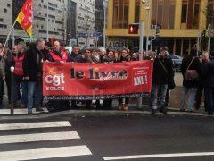 Rassemblement du 15 février devant l'Equipe