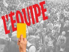 Rassemblement devant L'Equipe à 13h00 !