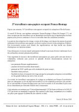 France Routage occupé par 37 travailleurs sans papiers