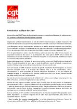 CSMP : texte de la contribution du SGLCE