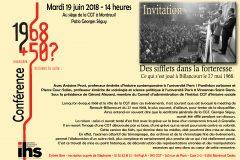 IHS confédéral : conférence 19 juin 2018
