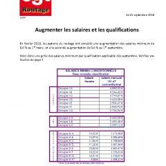 Routage : augmentation des salaires et des qualifications