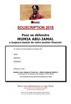 Mumia Abu-Jamal : maintenons notre mobilisation !