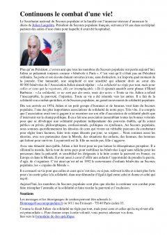 Hommage à Julien Lauprêtre