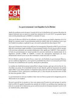 Le gouvernement veut liquider la loi Bichet