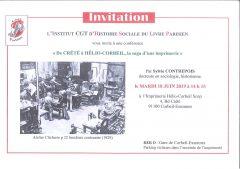 """IHS-LP : conférence """"De CRÉTÉ à HÉLIO-CORBEIL, la saga d'une imprimerie"""" – mardi 18 juin 2019"""