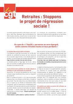 Retraites : stoppons la régression sociale