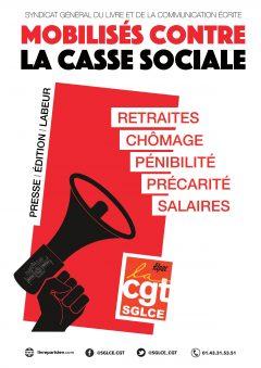 Retraites / chômage : lisez le 4-pages du SGLCE !