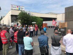 Grève à l'imprimerie La Galiote Prenant (labeur)