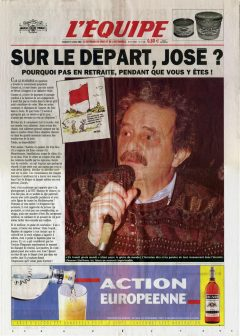 Hommage au camarade José Statibene