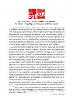 « Le Parisien » : Covid-19, effet d'aubaine pour la direction ?