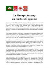 Presse : le Groupe Amaury au comble du cynisme