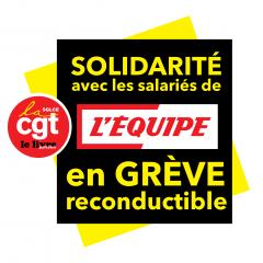 « L'Équipe » : les sections Messageries et SAD apportent la solidarité financière aux grévistes