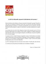 La SCIC de Marseille reprend la distribution de la presse !