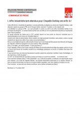 Enfin une offre pour La Chapelle Darblay !